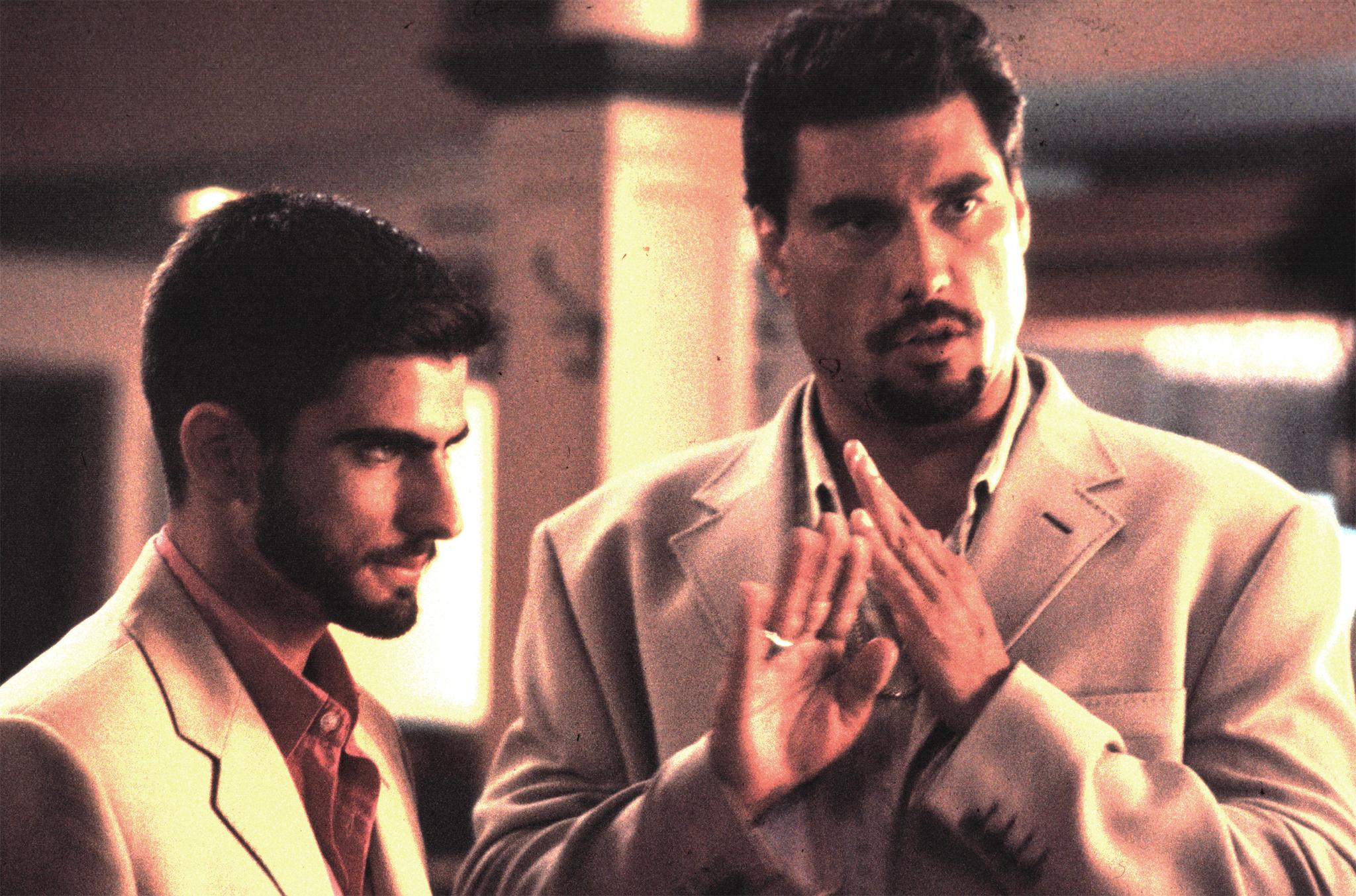 Still of Eduardo Yáñez and Omar Avila in The Punisher (2004)