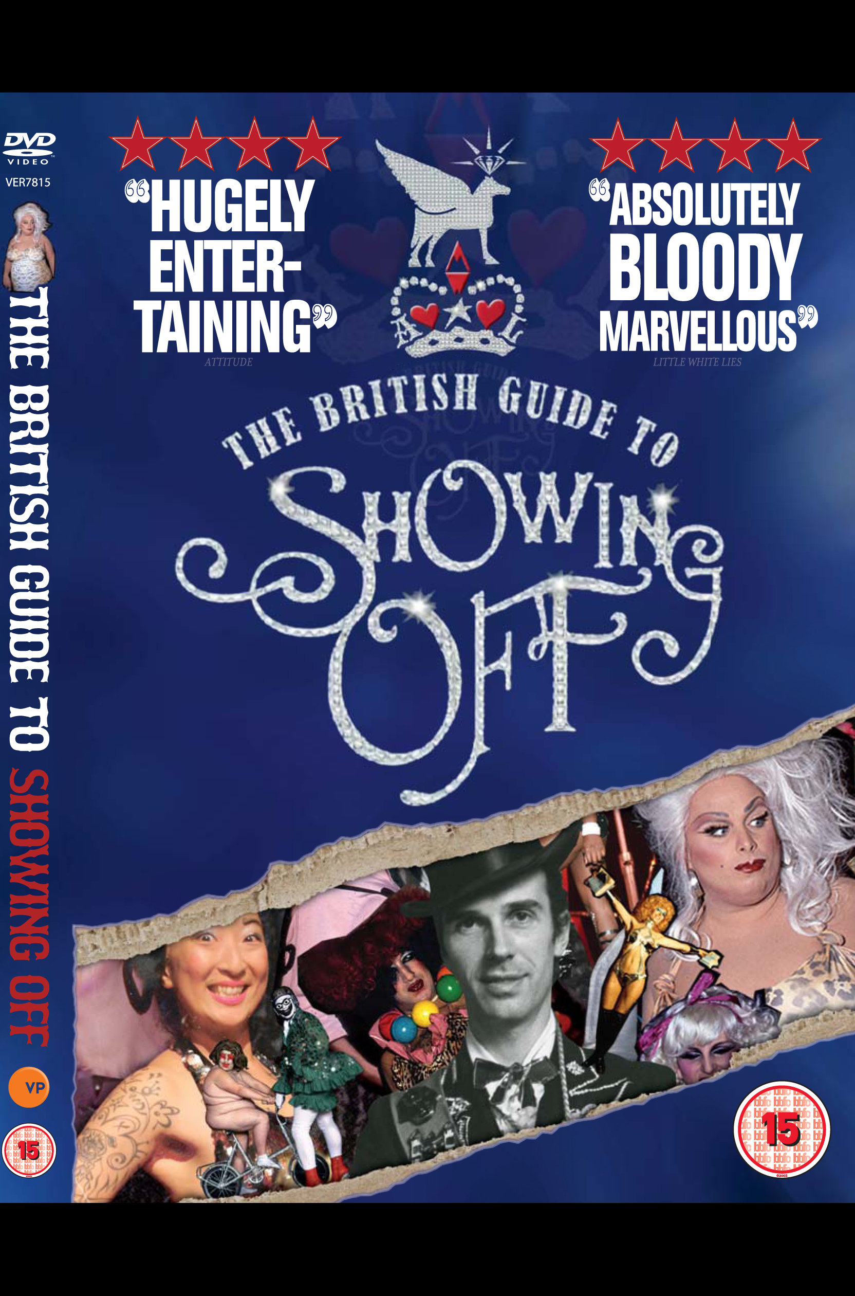 UK DVD cover by Verve Pictures, after theatrical release