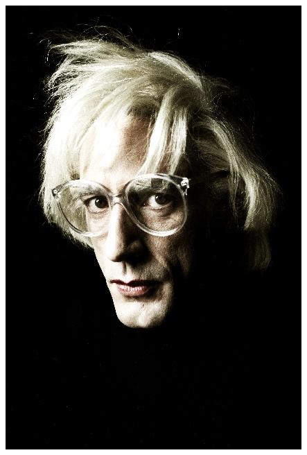 Tom Meeten as Andy Warhol