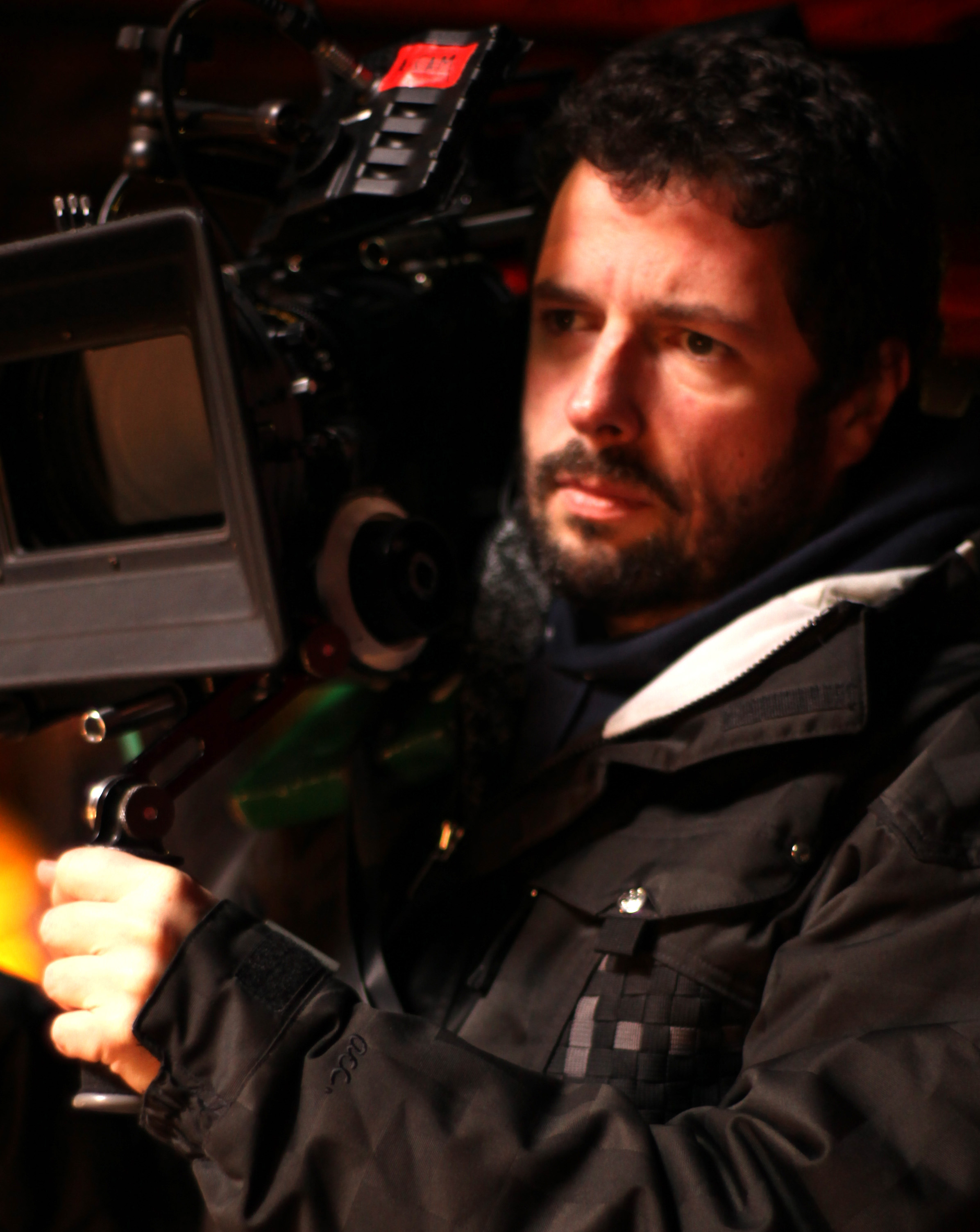 Director Charles de Lauzirika on the Detroit set of the independent feature film,
