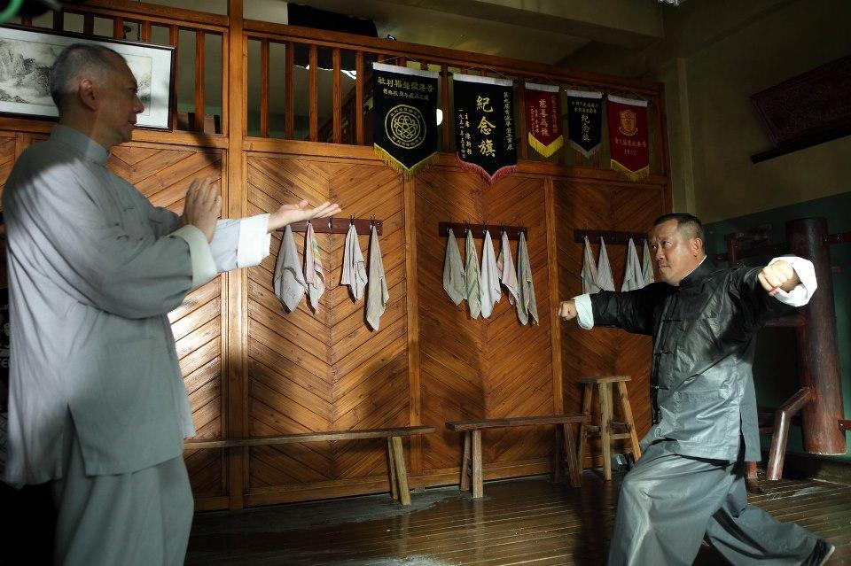 Still of Eric Tsang and Anthony Chau-Sang Wong in Yip Man: Jung gik yat jin (2013)