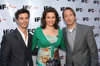 Ed Carroll, Alison Bailes and Evan Shapiro
