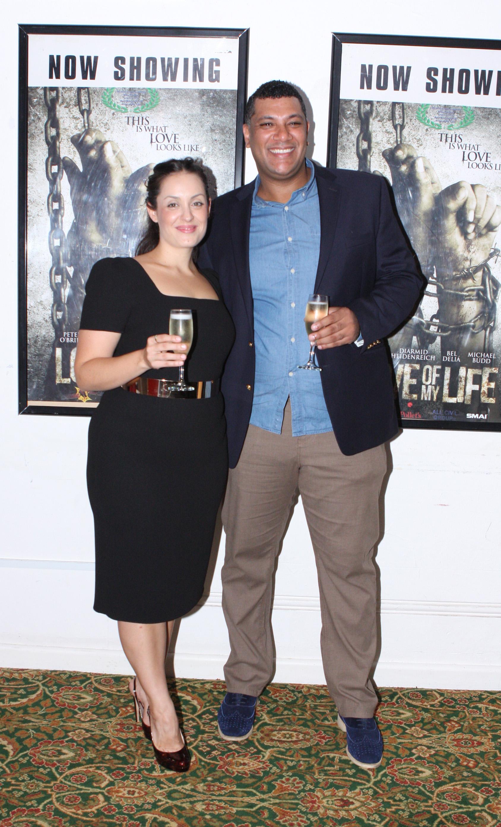 Michael Budd & Allison Berger @ premiere