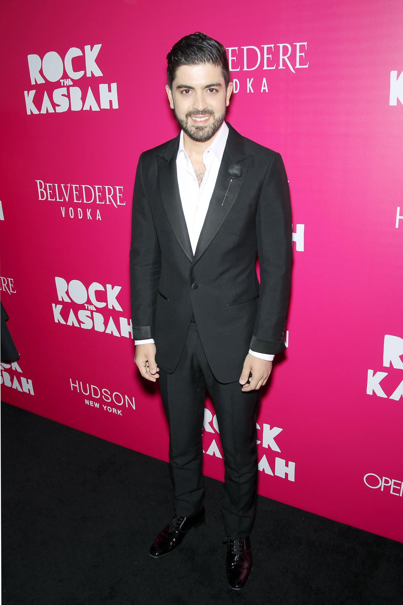 Beejan Land at event of Rock the Kasbah (2015)