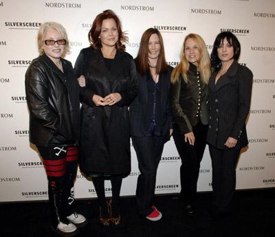 Jane Wiedlin, Charlotte Caffey, Belinda Carlisle, Gina Schock, Kathy Valentine and The Go-Go's