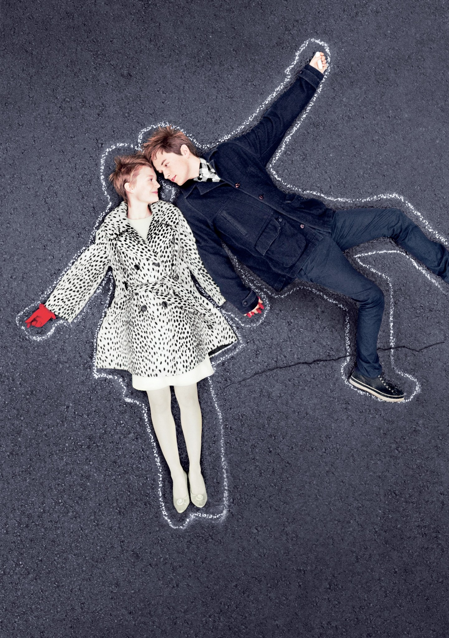 Still of Henry Hopper and Mia Wasikowska in Restless (2011)