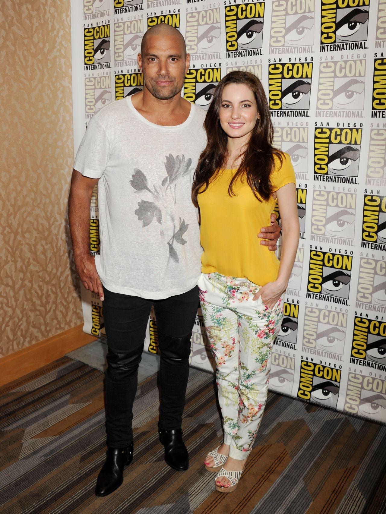 Comic-Con 2015. The Shannara Chronicles. With Manu Bennett