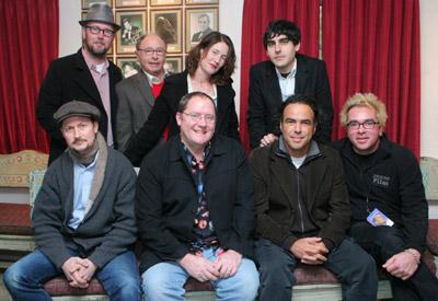 John Lasseter, Peter Bart, Jonathan Dayton, Valerie Faris, Todd Field, Alejandro González Iñárritu, Gil Kenan and Roger Durling