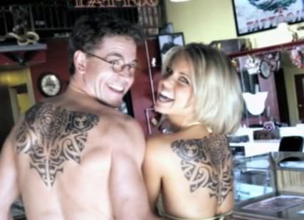 Still of Michelle Pierce and Brian Dietzen in