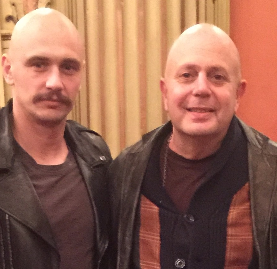 James Franco in ZEROVILLE and Edward Bass