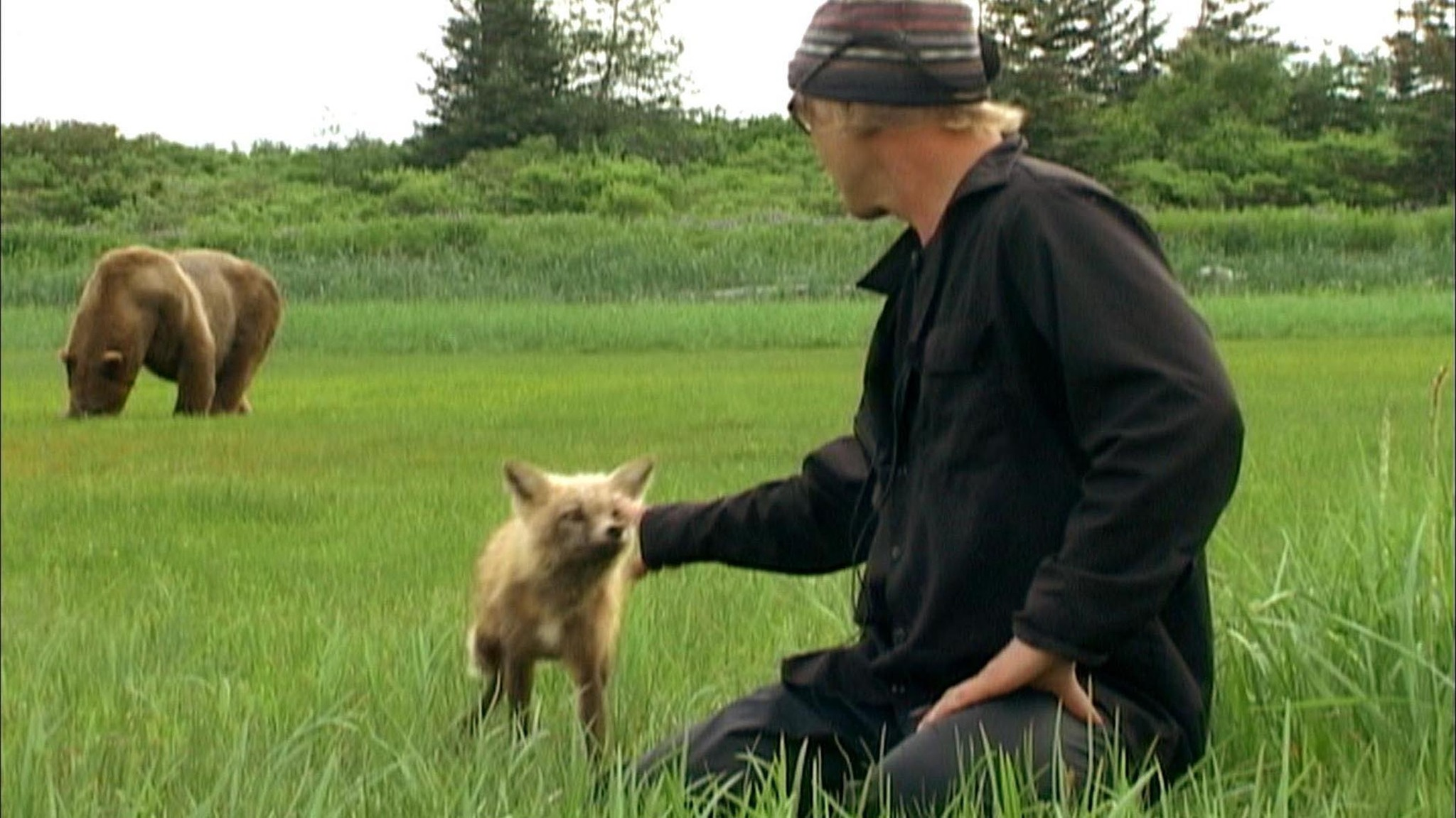 Still of Timothy Treadwell in Grizzly Man (2005)