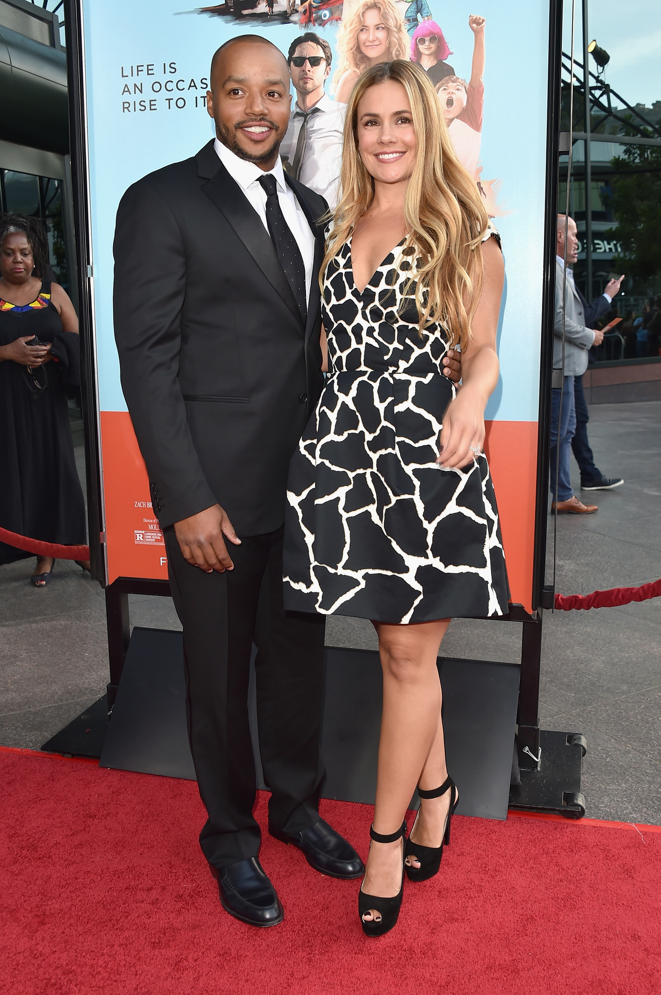 Donald Faison and Cacee Cobb at event of Wish I Was Here (2014)