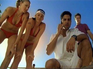 Still of Brendan Fehr, Adam Rodriguez, Kerri Walsh Jennings and Misty May-Treanor in CSI Majamis (2002)