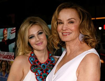 Drew Barrymore and Jessica Lange