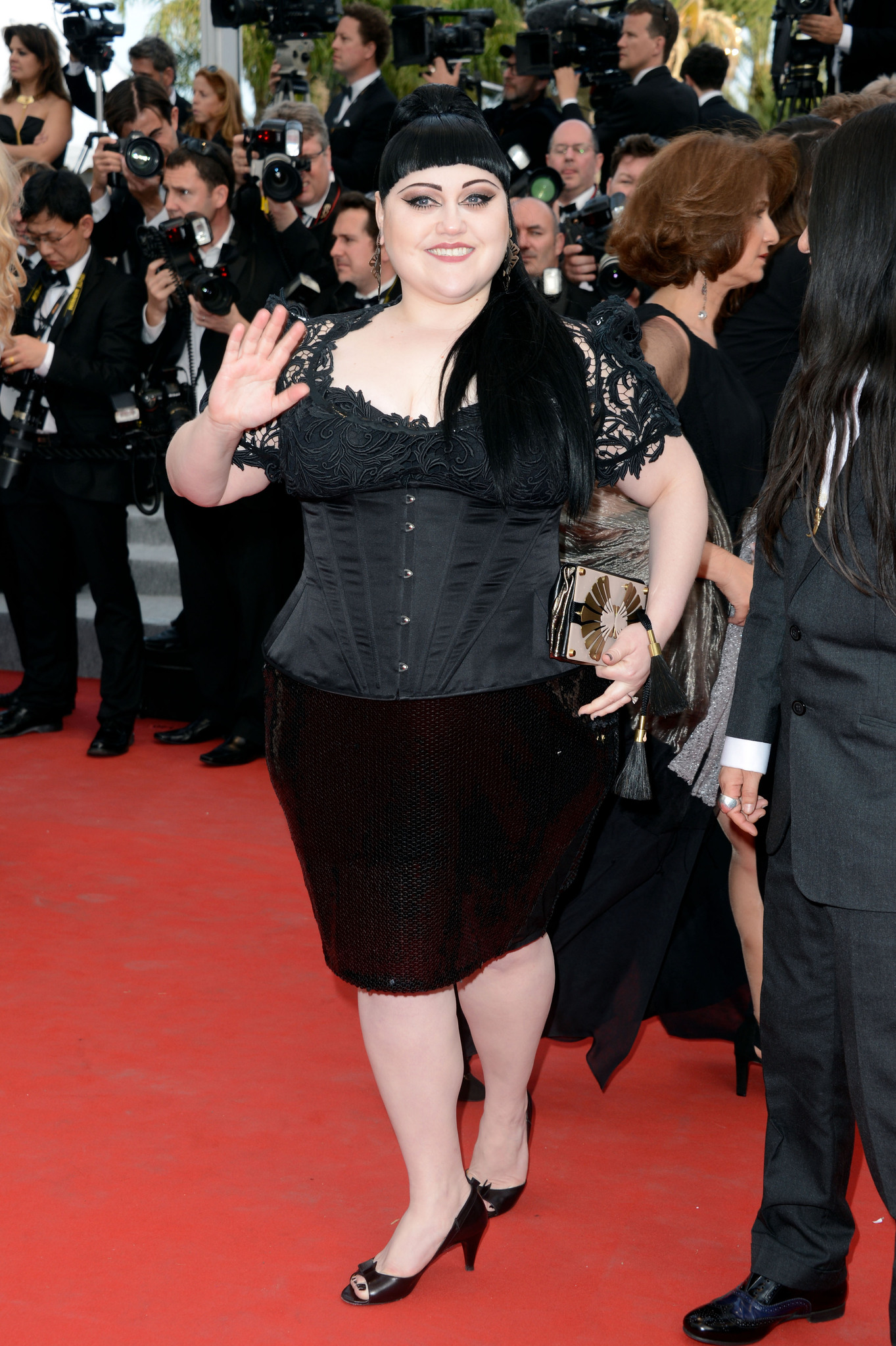 Beth Ditto at event of De rouille et d'os (2012)