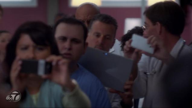 Mark Sinacori on Grey's Anatomy