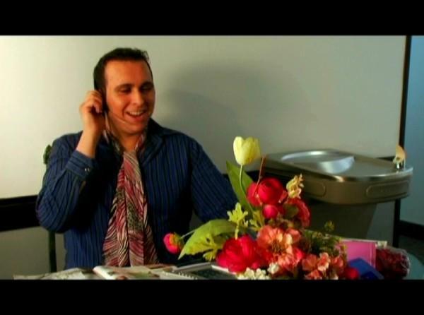 Mark as Jamie Stacie in the short film