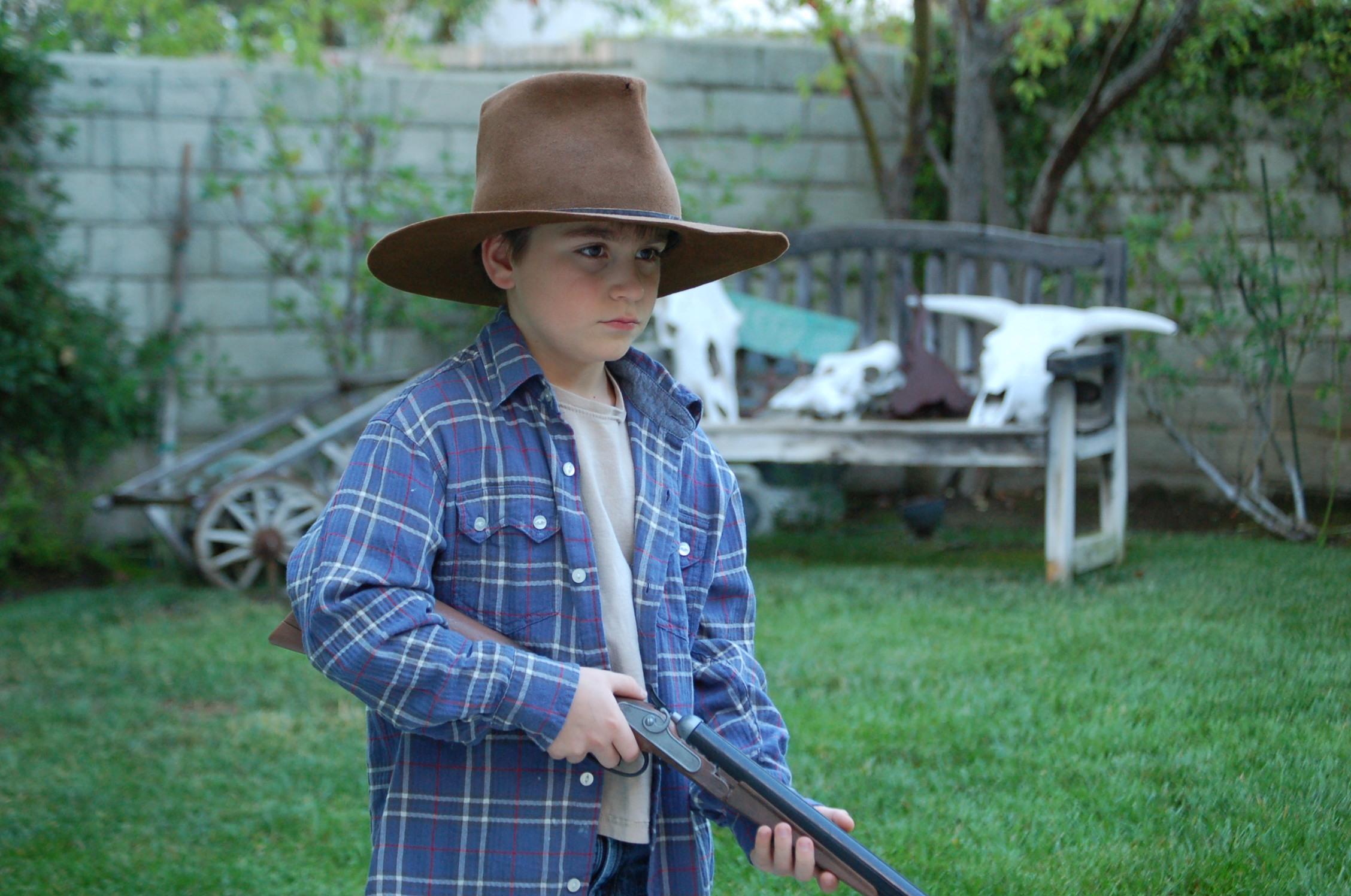 STONE Eisenmann as a Young Cowboy