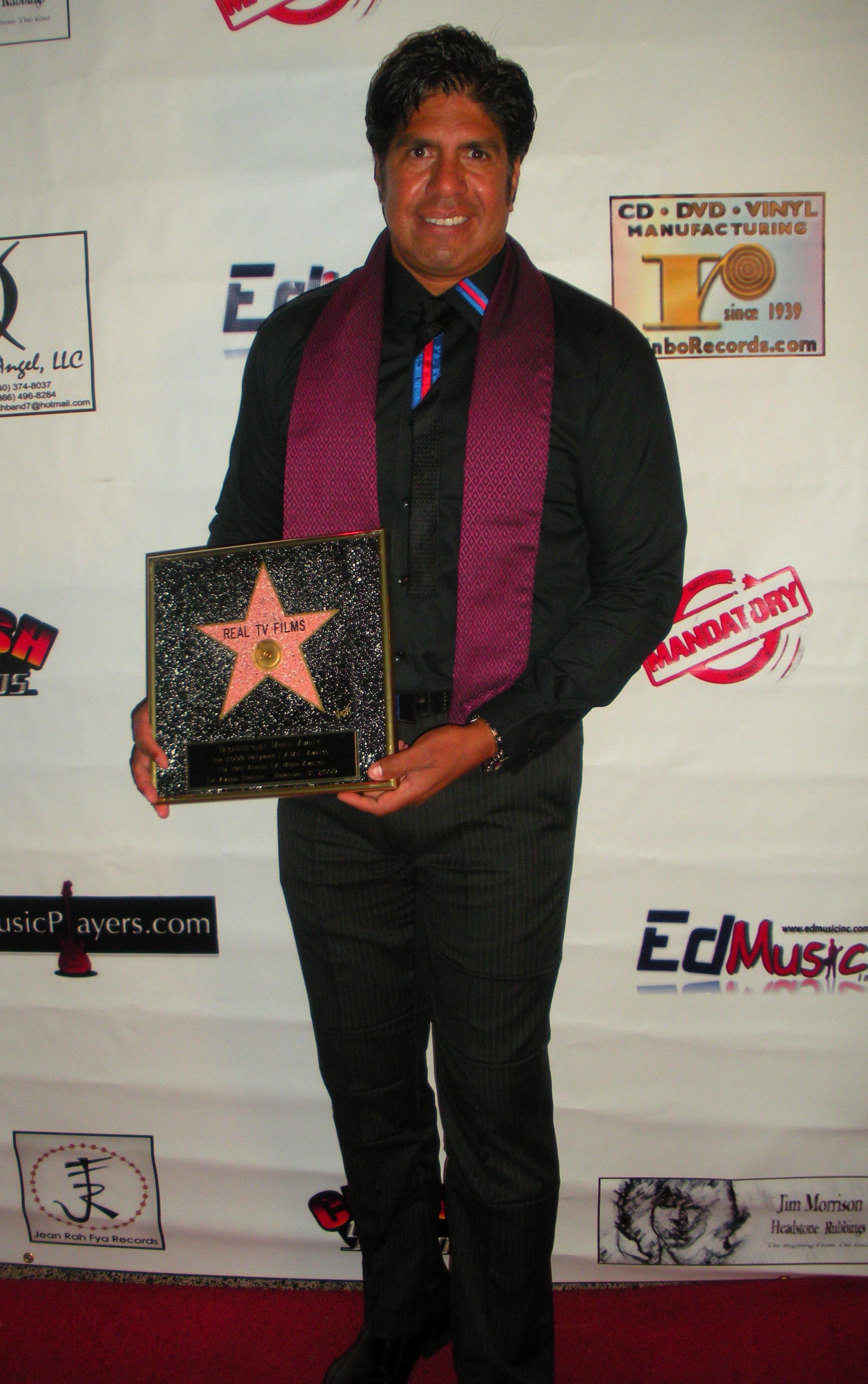 Gordon Vasquez, Hollywood FAME Awards -
