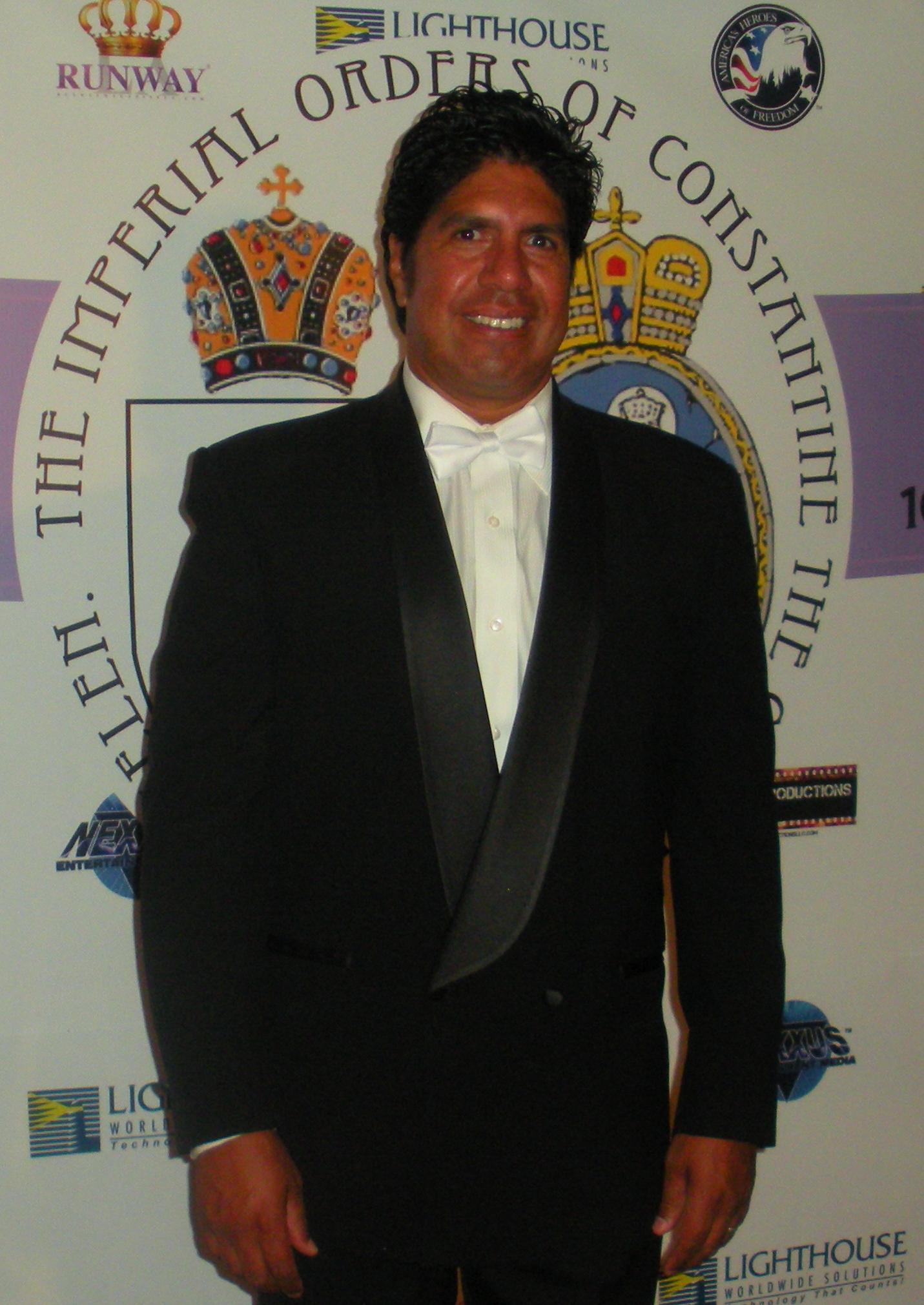 Gordon Vasquez, Royal Knighting Event -