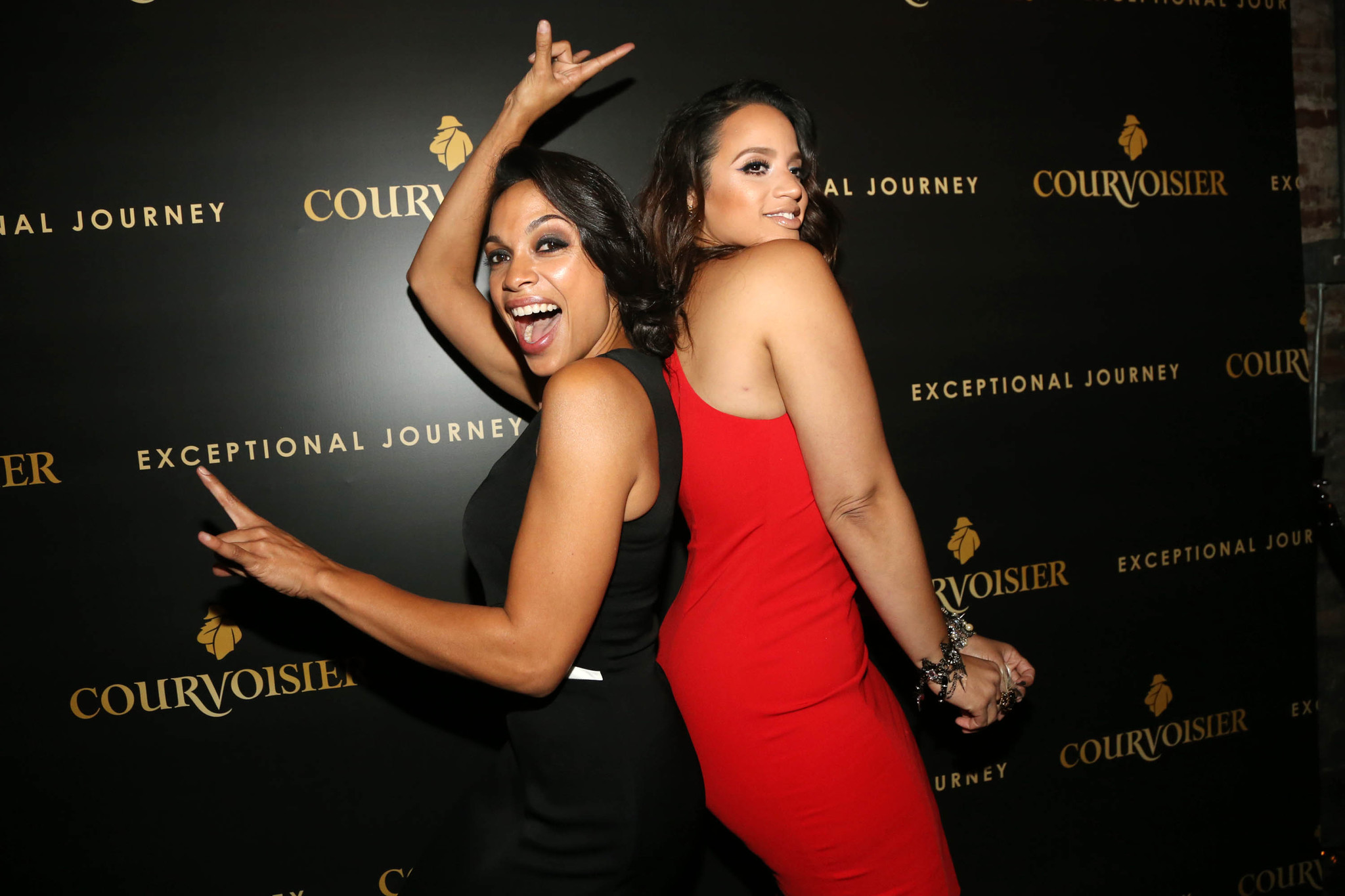 Rosario Dawson and Dascha Polanco