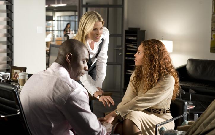 Still of Ali Larter, Idris Elba and Beyoncé Knowles in Gundytoja (2009)