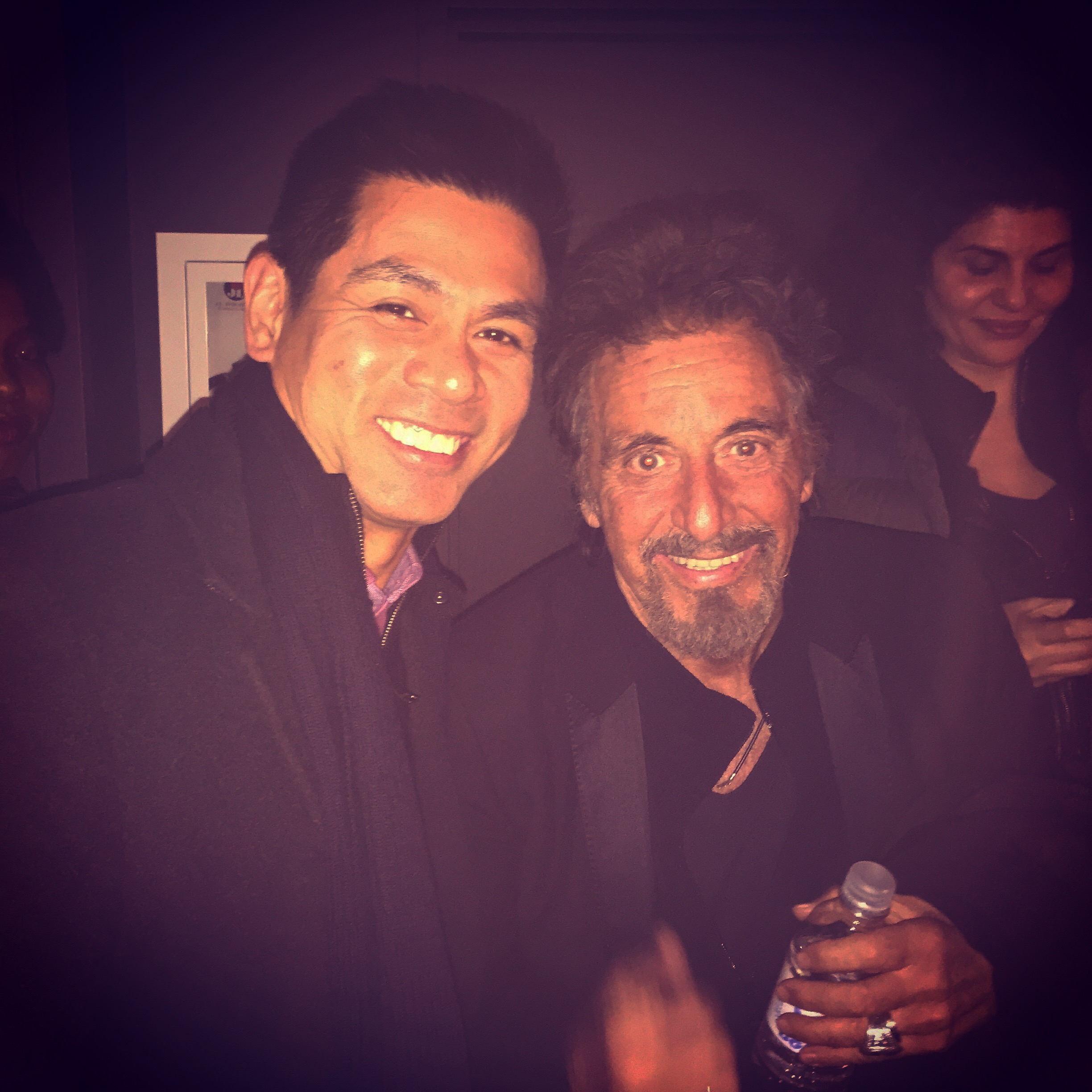 The iconic Al Pacino after the screening of his film The Humbling in NYC