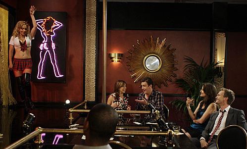 Still of Neil Patrick Harris, Alyson Hannigan, Jason Segel and Cobie Smulders in Kaip as susipazinau su jusu mama (2005)
