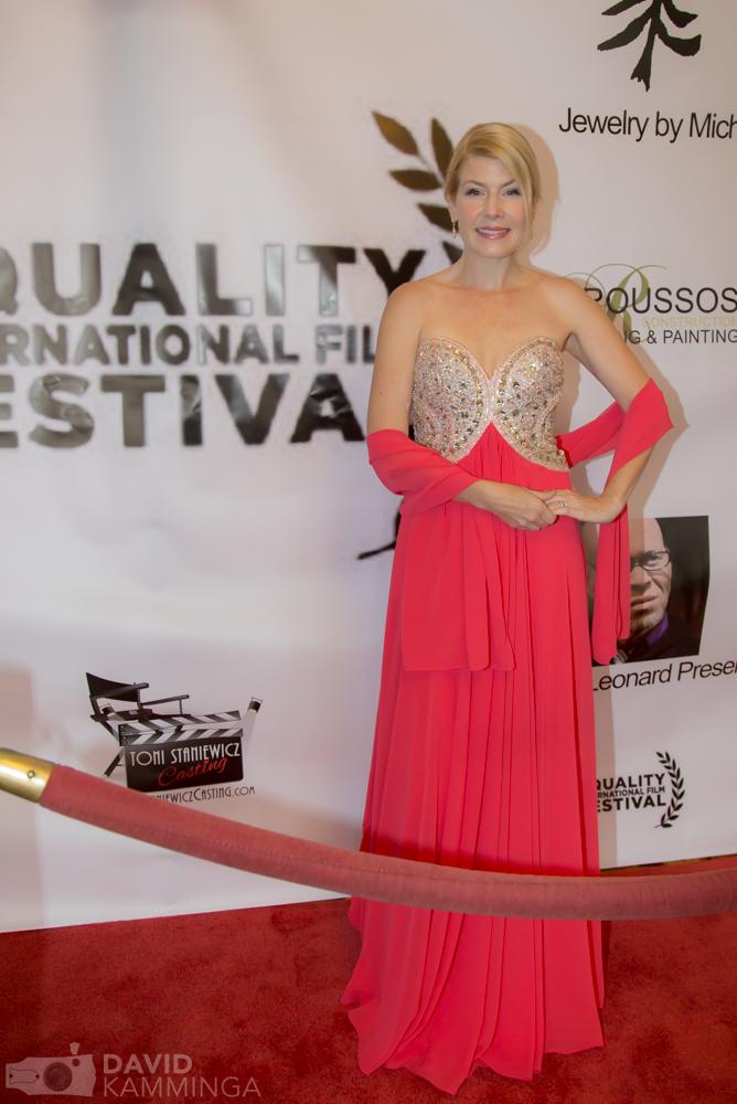 Corinne Meadors at the Equality International Film Festival, Nov. 8, 2015.
