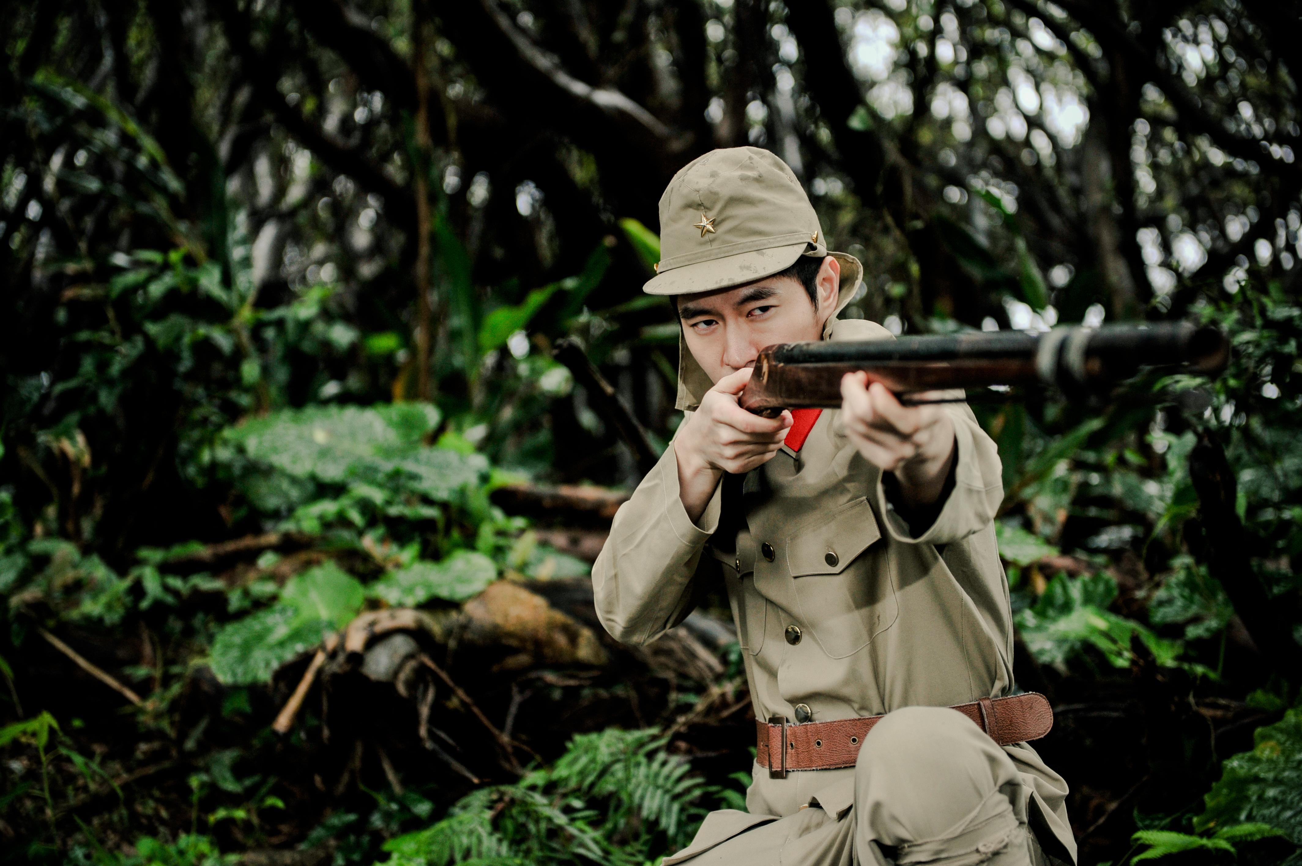 Simon Twu Japanese Soldier, World War II