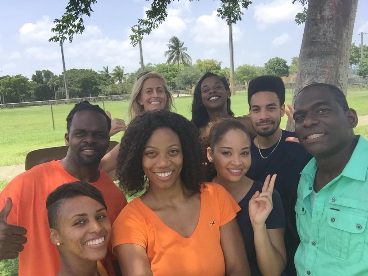 Movie Cast of 'My Beautiful Stepdaughter. Milton Jones, Alina Lane, Edward Mesidor, Diamond Cobb, Whitney Baker, Brittany Clarke, Courtney Brown and Katrina Naar