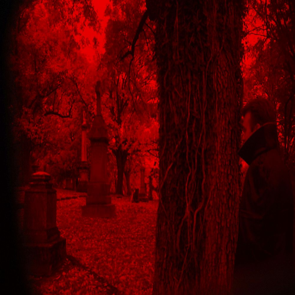 Drac Von Stoller sees his world as blood red.