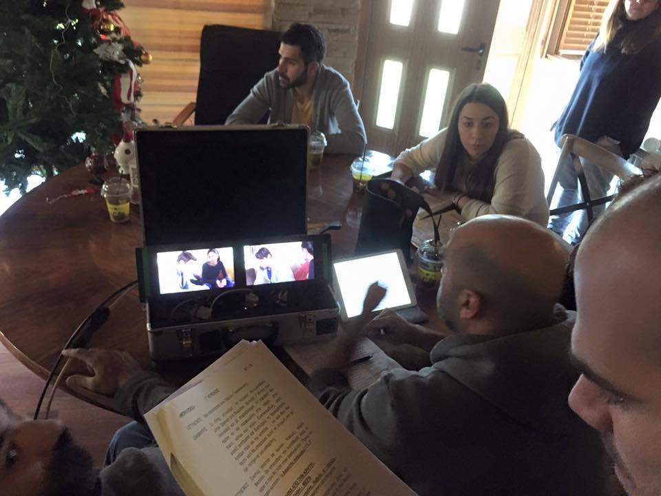 George Zouvelos in Filming Mprousko Μπρουσκο Brousko Brusko