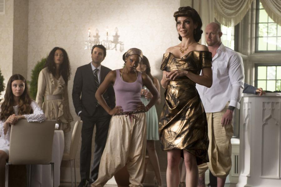 Still of Emmanuelle Vaugier, Olivia Lopez and Alisha Elizabeth Anneleise H.O. in Lost Girl (2010)