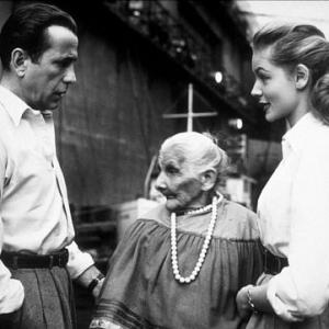 Key Largo Humphrey Bogart Felipa Gomez and Lauren Bacall 1948 Warner Bros