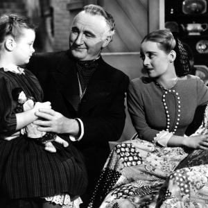 Bette Davis, Marlene Burnett, Donald Crisp