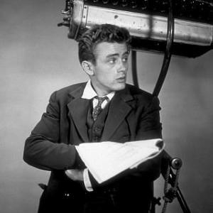 James Dean pubilicty photo for East of Eden 1955 Warner  MPTV