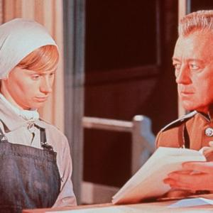 Still of Alec Guinness and Rita Tushingham in Doctor Zhivago (1965)