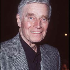 Charlton Heston at event of The Lion King II Simbas Pride 1998