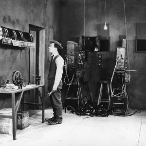 Still of Buster Keaton in Sherlock Jr. (1924)