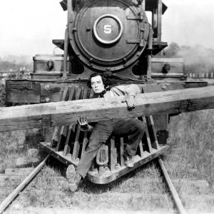 Still of Buster Keaton in The General (1926)