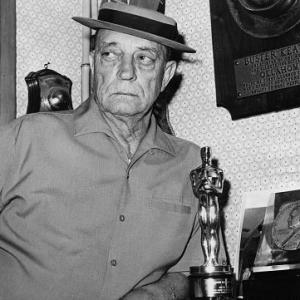 Buster Keaton at home