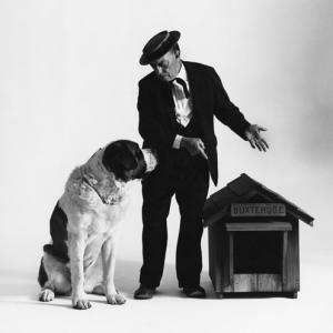 Buster Keaton at the Avery Studio