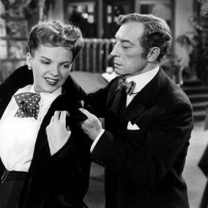 Judy Garland & Buster Keaton