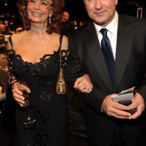 Sophia Loren and Alec Baldwin