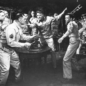 Still of Burt Lancaster, Frank Sinatra and Ernest Borgnine in From Here to Eternity (1953)