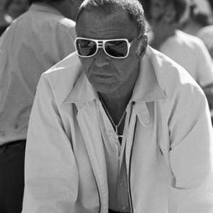 Frank Sinatra at a Los Angeles Dodgers World Series game