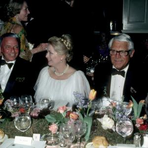 Cary Grant, Grace Kelly and Frank Sinatra
