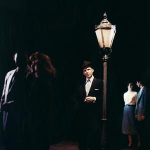 Frank Sinatra photo that appears on the cover of Capitol Records' album