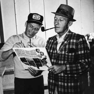 Frank Sinatra and Bing Crosby circa 1964